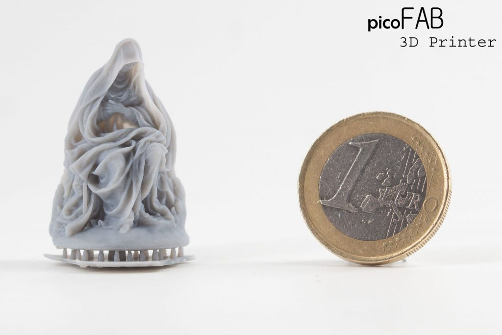 artistic model miniature 3d printed picofab