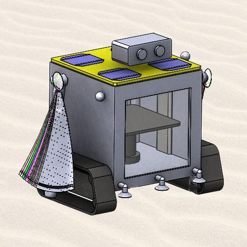 Soll-e solar sand sintering